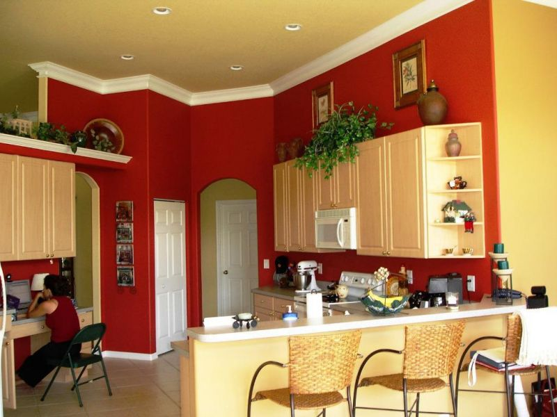 kitchen-color-ideas-with-dark-wood-cabinets