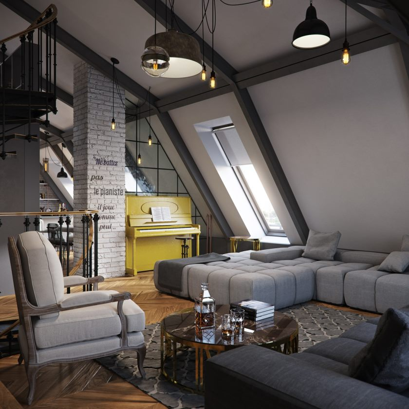exposed-brick-two-ways-immediately-the-slanted-attic-apartment-ceilings_ceiling-small-apartment_apartment_apartment-floor-plans-designs-loft-design-district-apartments-dallas-minimalist-small-interior