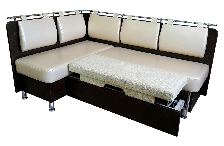угловой диван на кухню со спальным местом фото в интерьере диван