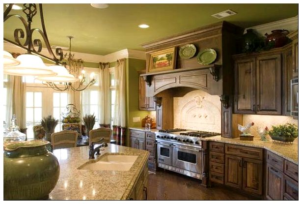French-Country-Styled-Kitchen-Fancy-Style