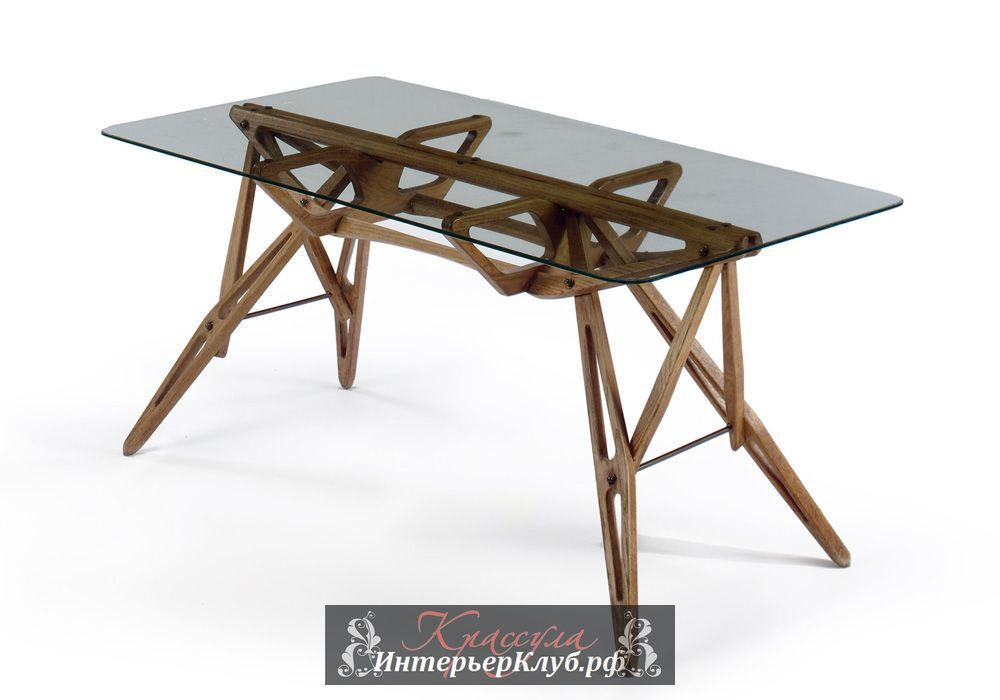 17 Стол от Карло Моллино продан за $3.9 миллиона на аукционе Кристи. The Carlo Mollino table that sold for $3.9 million. Image courtesy Christie's Images Ltd