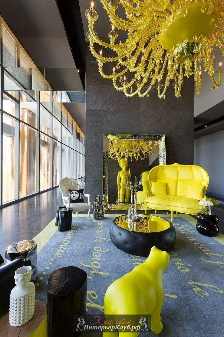 20 Philippe-Starck-Yoo-2-Panama Yoo Hotels and Residences Project living room design. philippe-starck, Филипп Старк, Филипп Старк цитаты, Филипп Старк дизайн, статья о Филлипе Старке
