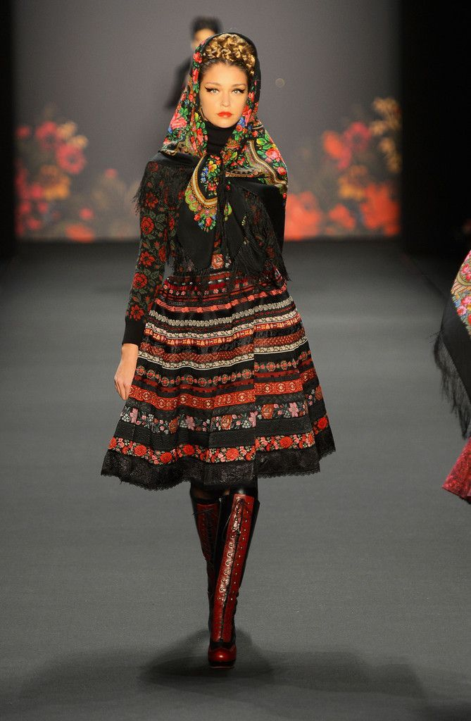 Lena Hoschek Autumn/Winter 2013/14 | Russian Rock 'n' Roll - The Russian Style - Fashion - Moda - Mode